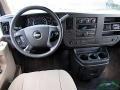 Chevrolet Express LT 3500 Extended Passenger Van Sandstone Metallic photo #19