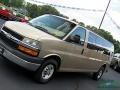 Chevrolet Express LT 3500 Extended Passenger Van Sandstone Metallic photo #29
