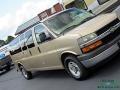 Chevrolet Express LT 3500 Extended Passenger Van Sandstone Metallic photo #30