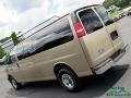 Chevrolet Express LT 3500 Extended Passenger Van Sandstone Metallic photo #32