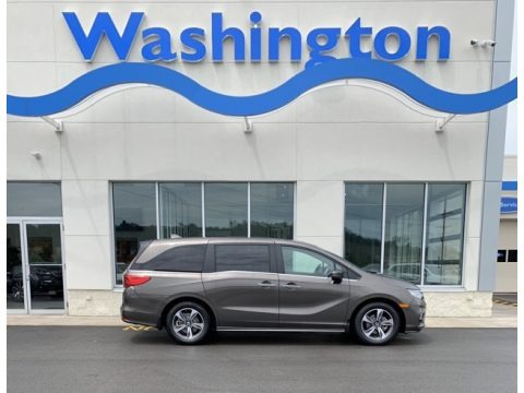 Pacific Pewter Metallic 2019 Honda Odyssey Touring
