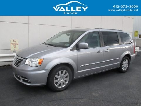 Billet Silver Metallic 2013 Chrysler Town & Country Touring