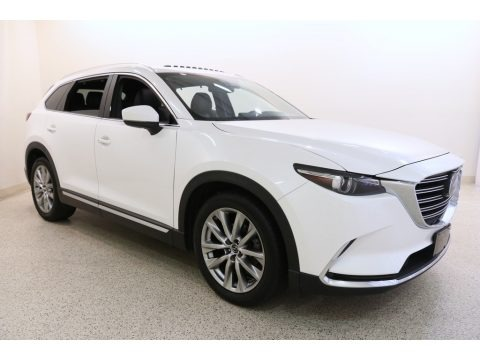 Snowflake White Pearl 2016 Mazda CX-9 Grand Touring AWD