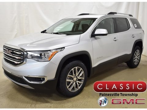 Quicksilver Metallic 2019 GMC Acadia SLE