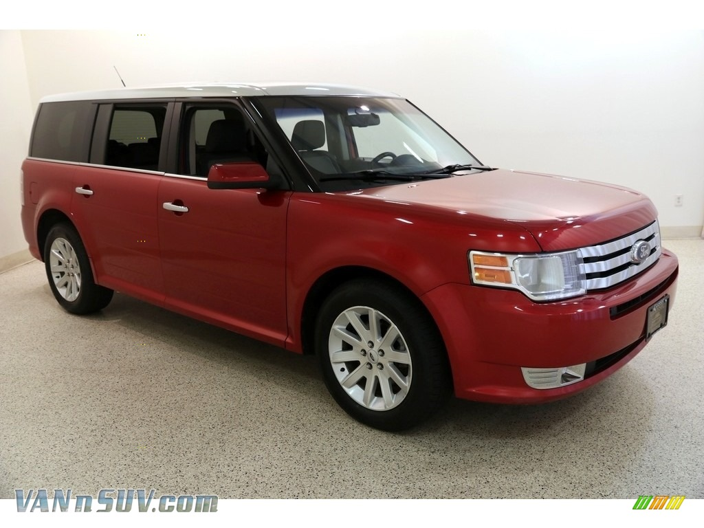 2011 Flex SEL AWD - Red Candy Metallic / Charcoal Black photo #1