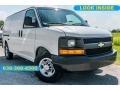 Chevrolet Express 2500 Work Van Summit White photo #1