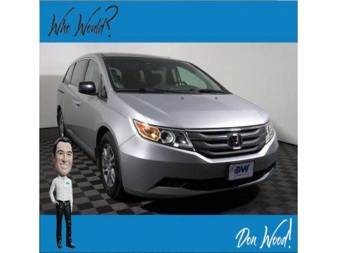 Crystal Black Pearl 2012 Honda Odyssey EX-L