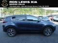 Kia Sportage LX AWD Pacific Blue photo #1