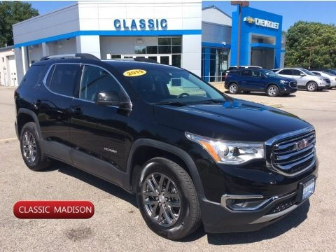 Ebony Twilight Metallic 2019 GMC Acadia SLT AWD