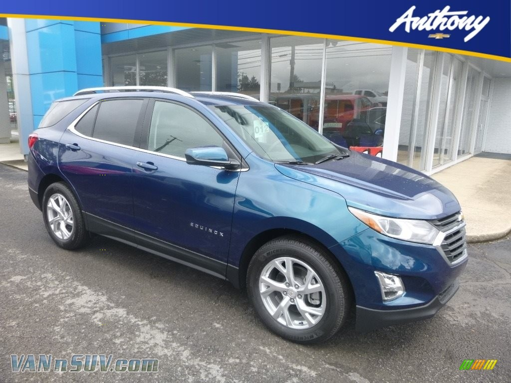 2020 Equinox LT AWD - Pacific Blue Metallic / Jet Black photo #1