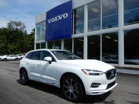 Crystal White Metallic 2020 Volvo XC60 T6 AWD Inscription