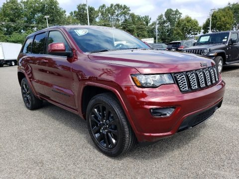 Velvet Red Pearl 2020 Jeep Grand Cherokee Altitude 4x4