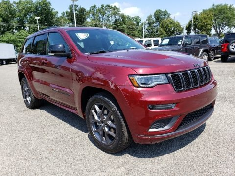 Velvet Red Pearl 2020 Jeep Grand Cherokee Limited 4x4