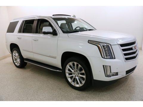 Crystal White Tricoat 2019 Cadillac Escalade Luxury 4WD