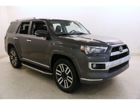 Magnetic Gray Metallic 2016 Toyota 4Runner Limited 4x4