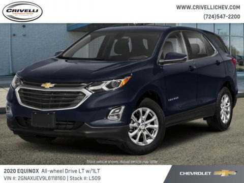 Midnight Blue Metallic 2020 Chevrolet Equinox LT AWD