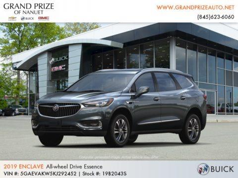 Dark Slate Metallic 2019 Buick Enclave Essence AWD