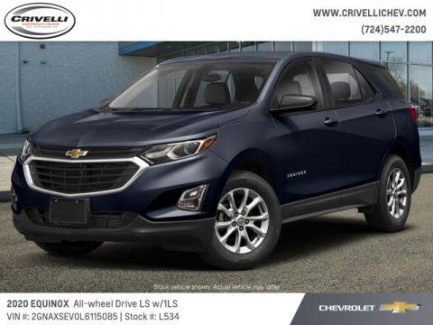 Midnight Blue Metallic 2020 Chevrolet Equinox LS AWD