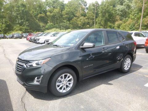 Nightfall Gray Metallic 2020 Chevrolet Equinox LS AWD