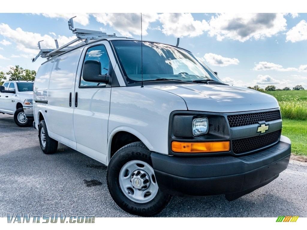 2011 Express 2500 Work Van - Summit White / Medium Pewter photo #1