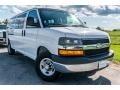 Chevrolet Express LT 3500 Passenger Van Summit White photo #1