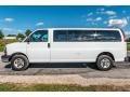Chevrolet Express LT 3500 Passenger Van Summit White photo #7