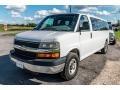 Chevrolet Express LT 3500 Passenger Van Summit White photo #8