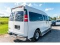 Chevrolet Express LT 3500 Extended Passenger Van Summit White photo #4