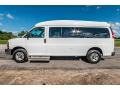 Chevrolet Express LT 3500 Extended Passenger Van Summit White photo #7
