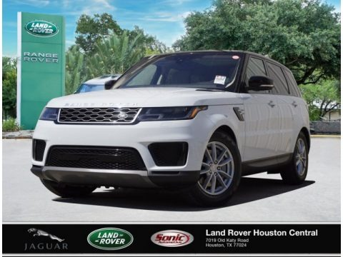 Fuji White 2020 Land Rover Range Rover Sport SE