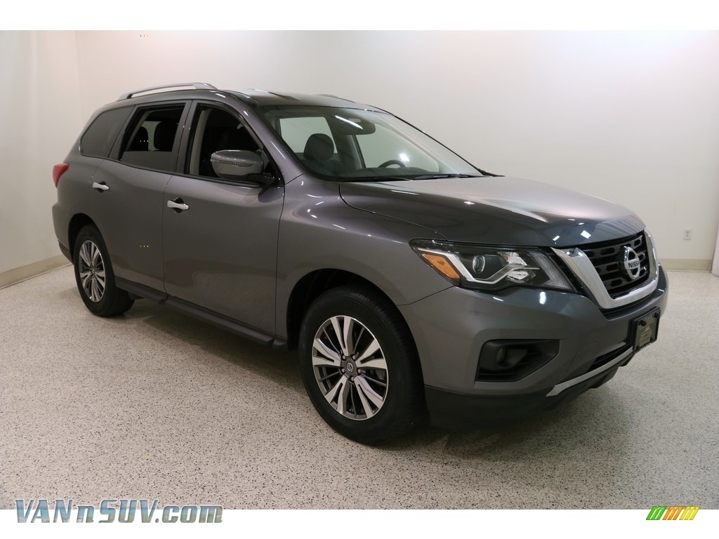 2019 Pathfinder SV 4x4 - Gun Metallic / Charcoal photo #1