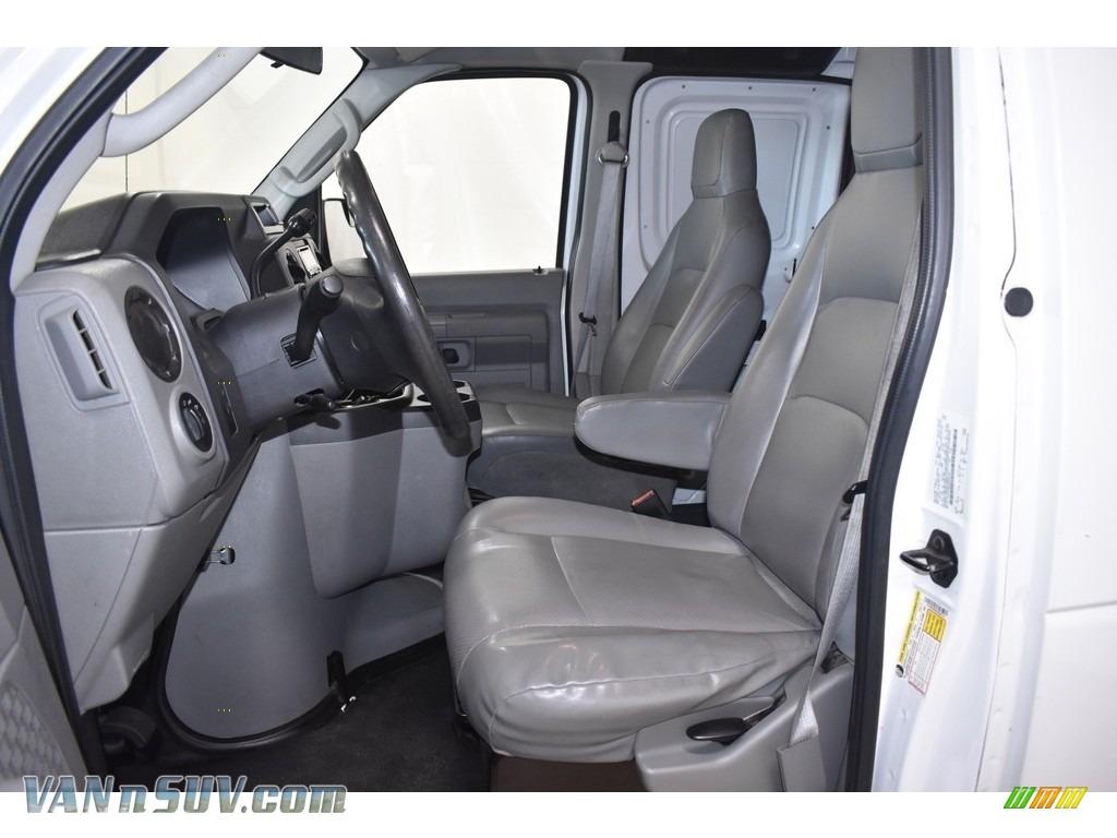 2012 E Series Van E250 Cargo - Oxford White / Medium Flint photo #7
