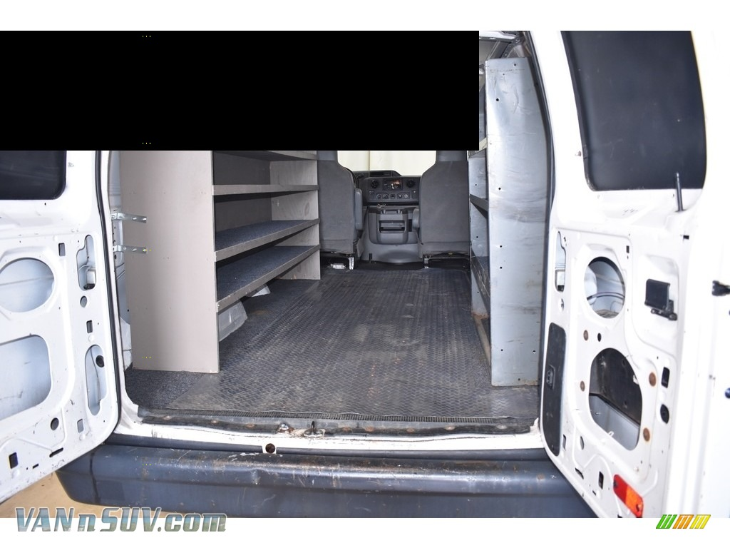 2012 E Series Van E250 Cargo - Oxford White / Medium Flint photo #8