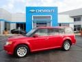 Ford Flex SEL Red Candy Metallic photo #1