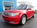 Ford Flex SEL Red Candy Metallic photo #2