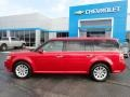 Ford Flex SEL Red Candy Metallic photo #3