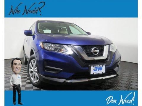 Caspian Blue 2017 Nissan Rogue S AWD