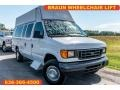Ford E Series Van E350 Commercial Extended Oxford White photo #1