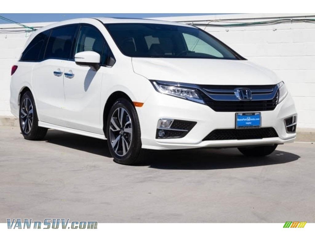 2020 Odyssey Elite - Platinum White Pearl / Beige photo #1