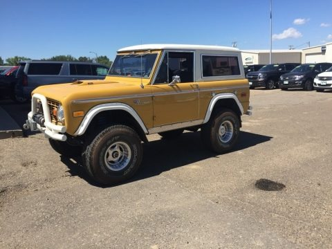 Yellow 1970 Ford Bronco Sport Wagon