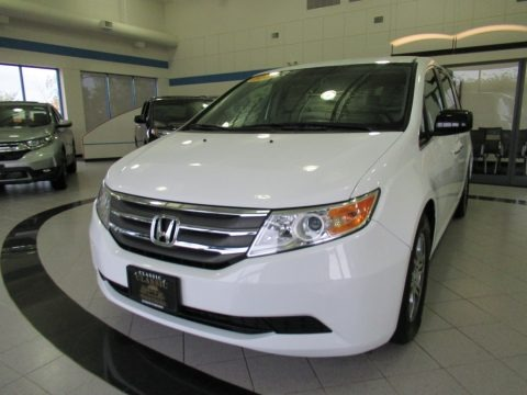 Taffeta White 2013 Honda Odyssey EX