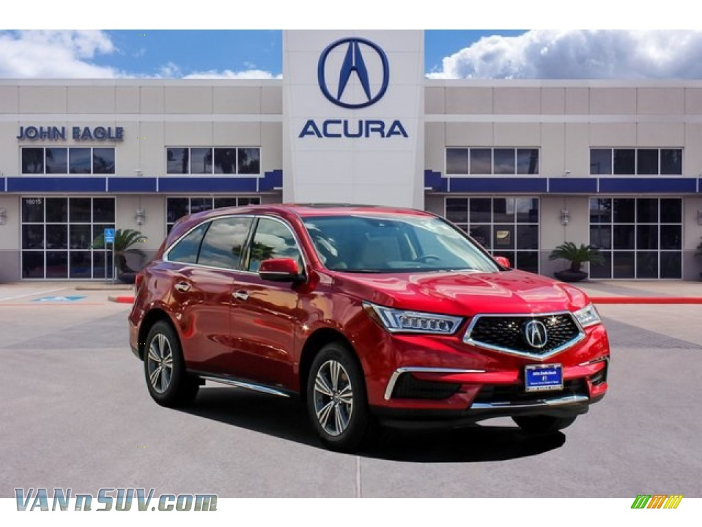 2019 MDX  - Performance Red Pearl / Parchment photo #1