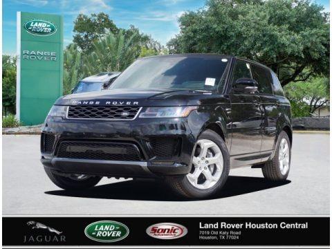 Santorini Black Metallic 2020 Land Rover Range Rover Sport HSE