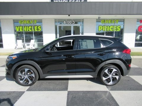 Black Noir Pearl 2017 Hyundai Tucson Sport