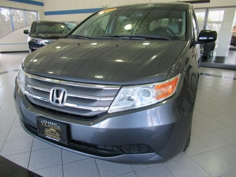 Polished Metal Metallic 2012 Honda Odyssey EX-L