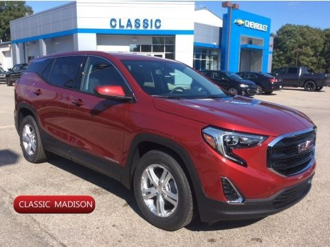 Red Quartz Tintcoat 2020 GMC Terrain SLE