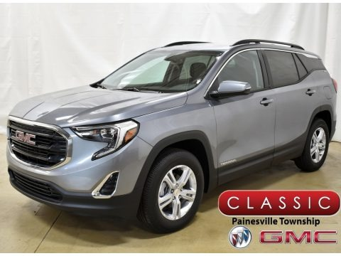 Satin Steel Metallic 2020 GMC Terrain SLE