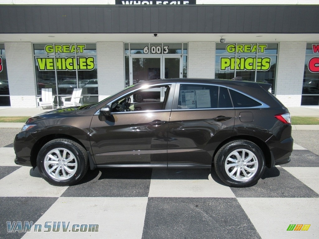 2017 RDX Technology AWD - Kona Coffee Metallic / Parchment photo #1