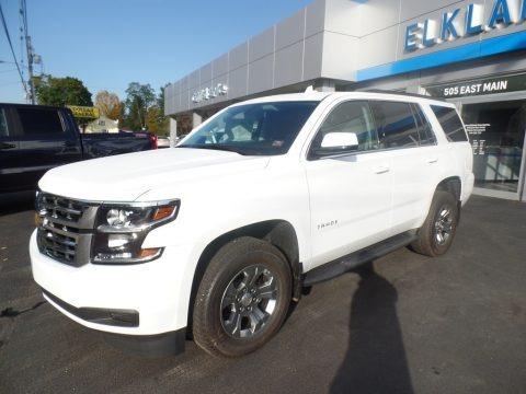 Summit White 2020 Chevrolet Tahoe LS 4WD