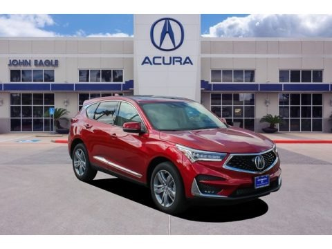 Performance Red Pearl 2020 Acura RDX Advance